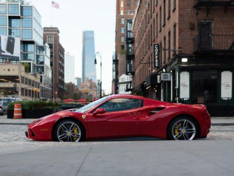 Ferrari 458 Italia Spider Sports Car